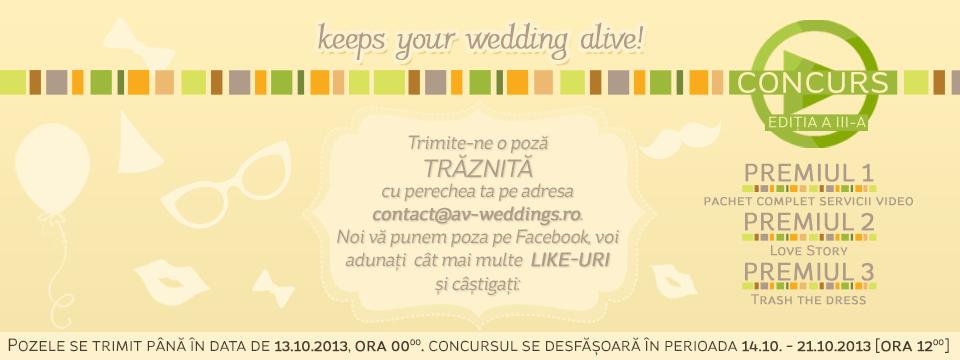Concurs AV Weddings Editia a3a